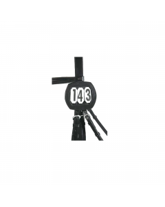 USG-Startnummer, eckig, schwarz