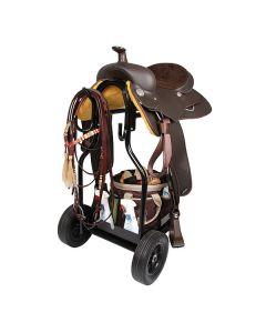 Stall-Carry Basket Sattelwagen Sattelboy schwarz