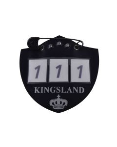 Kingsland Startnummer für Schabracke KLiban