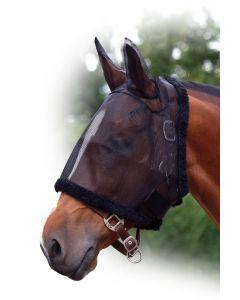 QHP Fliegenschutzmaske mit Ohren Shetty