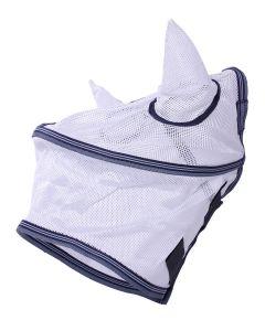 QHP Fliegenschutzmaske weiß