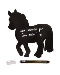 Kreidetafel Pony, Waldhausen