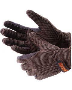 "LAG ""Crochet"" Handschuhe braun"