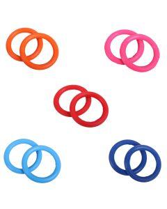 QHP Elastische Ringe für Sicherheitsbügel verschiedene Farben