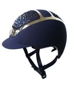 Kask DOGMA CHROME LIGHT navy silber mit Pearls Ocean