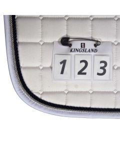 Kingsland, Startnummern für Schabracke-weiß