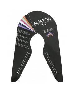 EKKIA NORTON PRO Maßschablone für das Kopfeisensystem