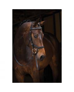 RAMBO® MICKLEM® Diamante Competition Bridle, Horseware - schwarz