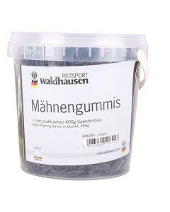 Mähnengummis im Eimer, 400 g, schwarz