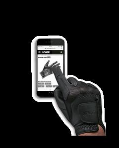 UVEX, Reithandschuh Ventraxion schwarz, Touchscreen compatibel