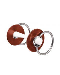 NATHE Standardgebiss große Ringe und Gebissscheiben