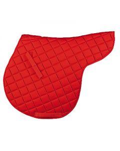Satteldecke aus Baumwolle, rot