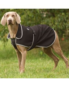 "EQUI-THÈME ""Soft Shell"" Hundedecke schwarz"