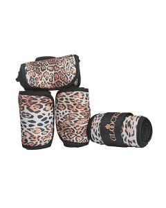 Glööckler - Bandagen 4er Set -ANIMAL PRINT