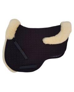 Eurofit® Schabracke_Lammfellstreifen, Mattes, VS - schwarz, hellgelb
