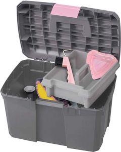 NORTON Putzbox grau/rosa