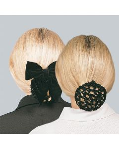 Elegantes Haarnetz -schwarz