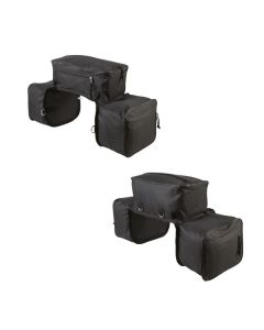 Dreifache Wanderpacktasche