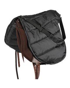 Satteltasche schwarz