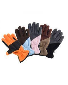 LAG Zweifarbige Polar Handschuhe