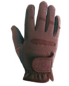 """LAG """"Domi-SUED Anti-Glisse"""" Handschuhe braun"""