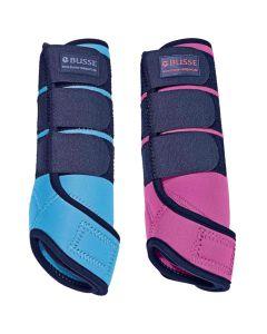 BUSSE Gamaschen Basic Pink und Aruba