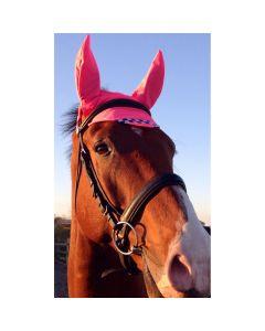 Equisafety Reflektor Ohrenkappe - pink polite -