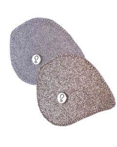 QHP Austauschbares Oberteil für Reitstiefel Romy Glitter