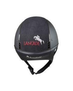 Samshield Shadowmatt Schwarz Lancade Edition Logo Alcantara