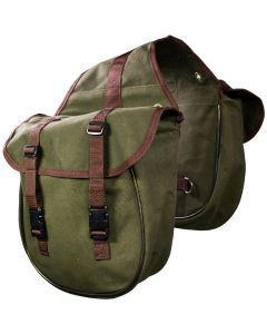 WI Westerimports,Canvas Saddlebag/Satteltasche