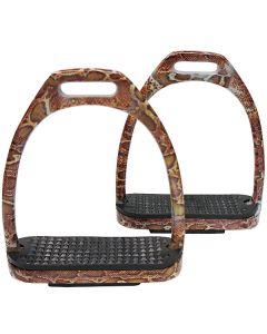 Edelstahl Steigbügel Snakedesign